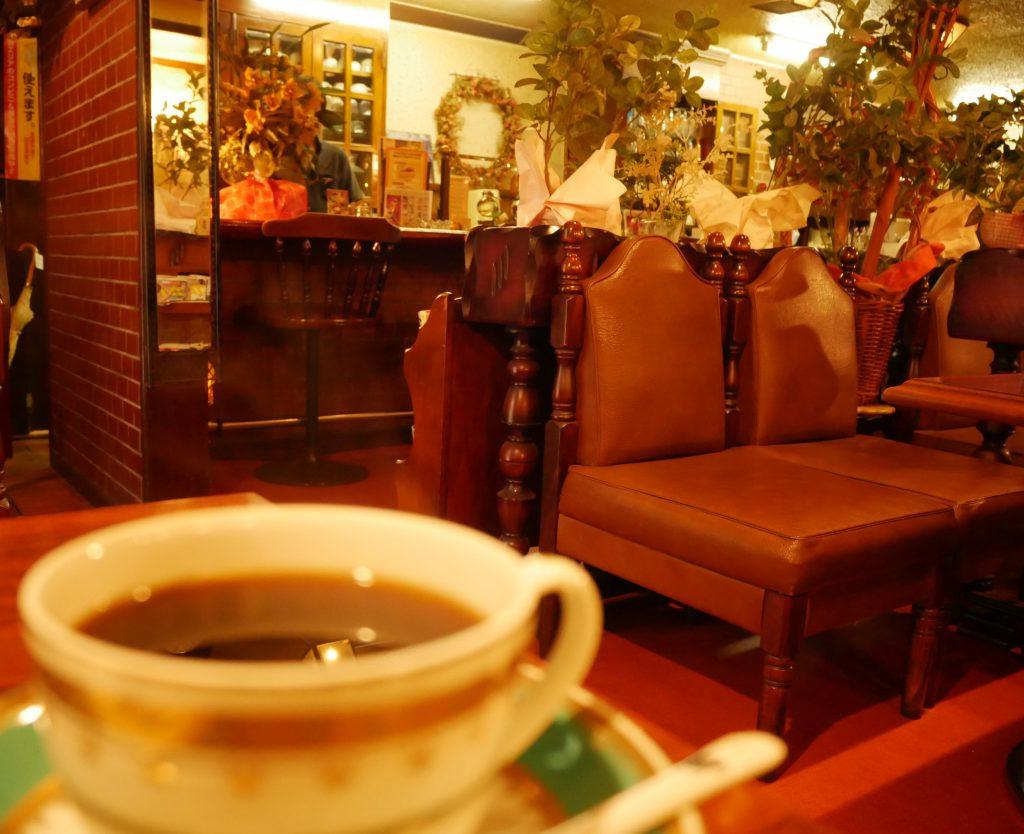 徳山駅,喫茶店,コーヒー,サイフォン,純喫茶,モーニング