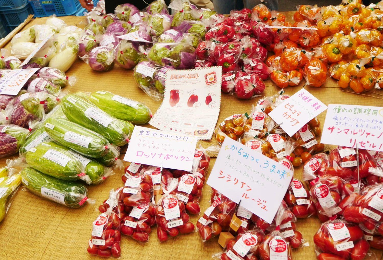 野菜,朝市,軽トラ市,トマト