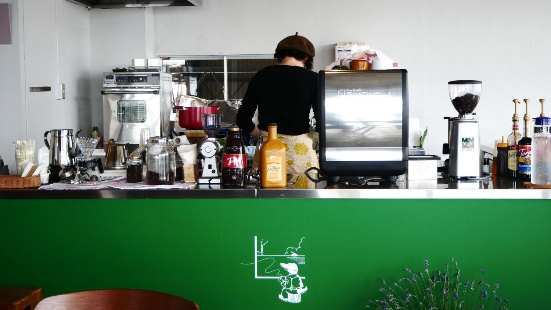 カフェ,海,徳山港,ランチ,サンドイッチ