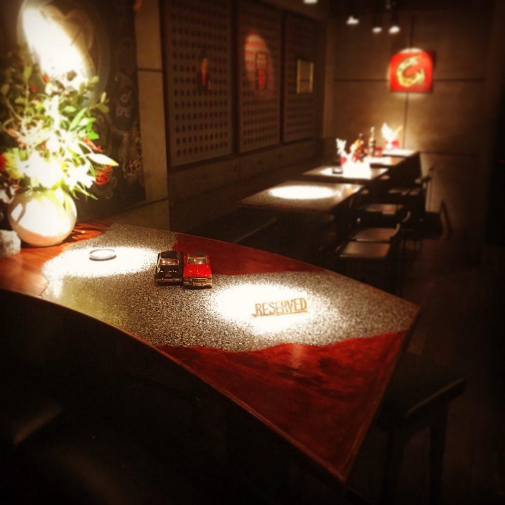 ボックス席,バー,徳山駅