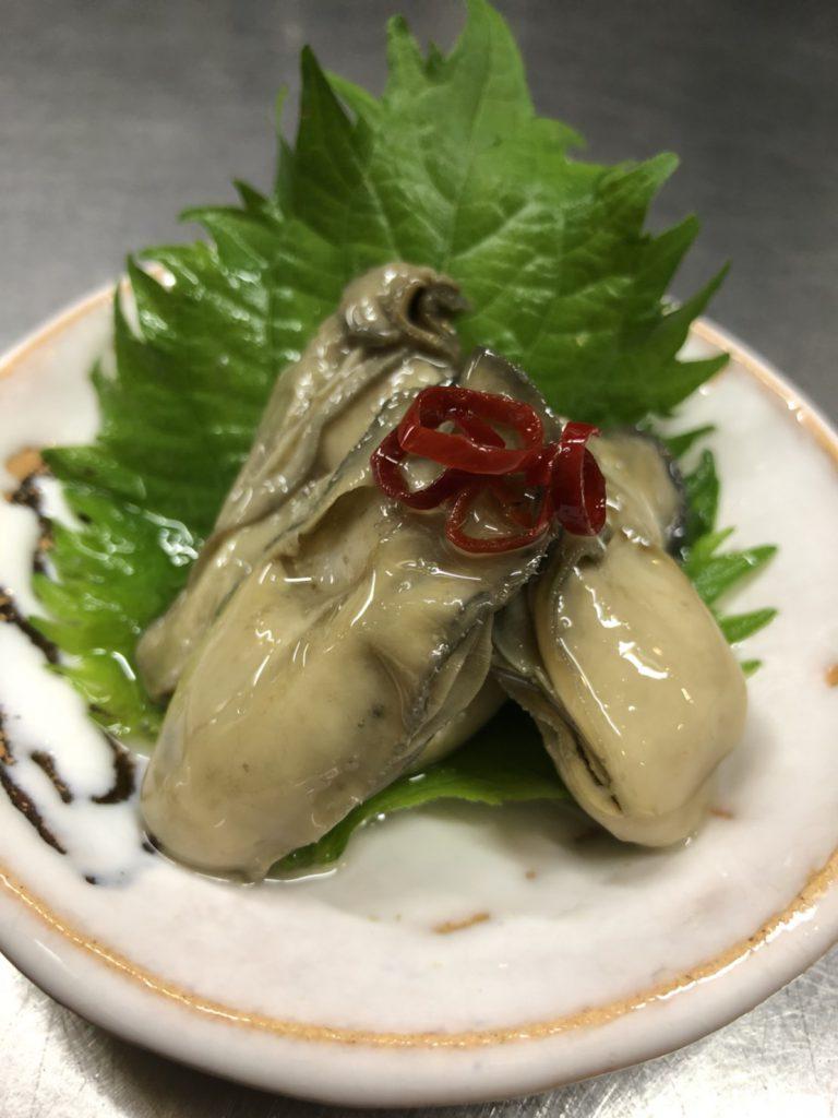 牡蠣,オイル漬け