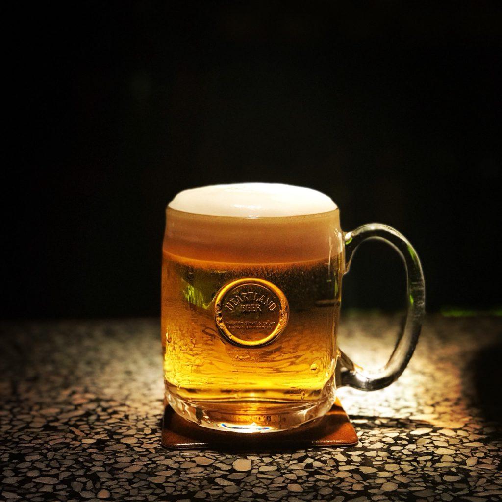 生ビール,スポットライト