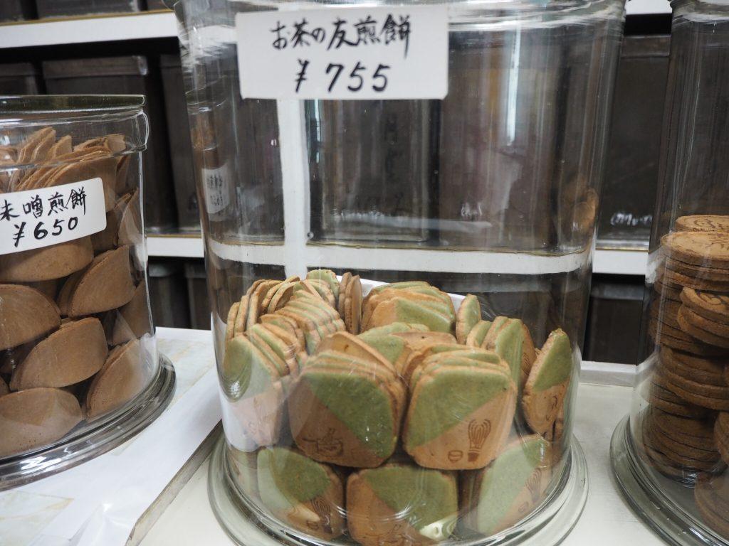 煎餅,徳山