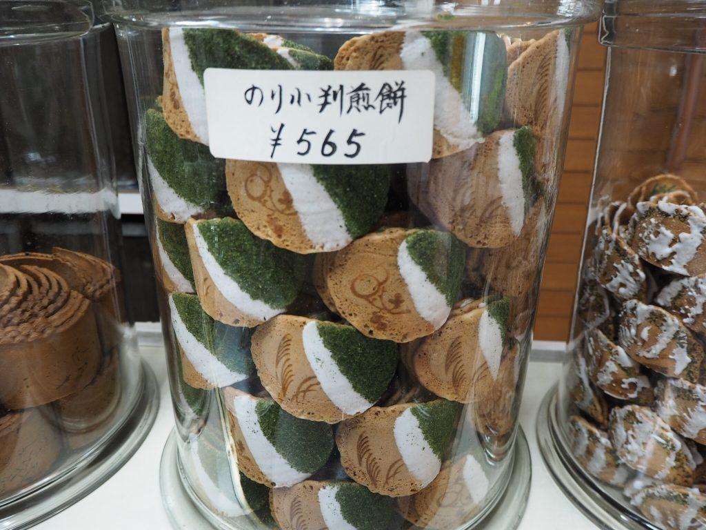 お煎餅,徳山