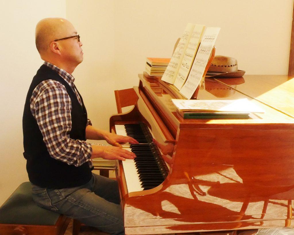 ピアノ,音楽サロン,カフェ