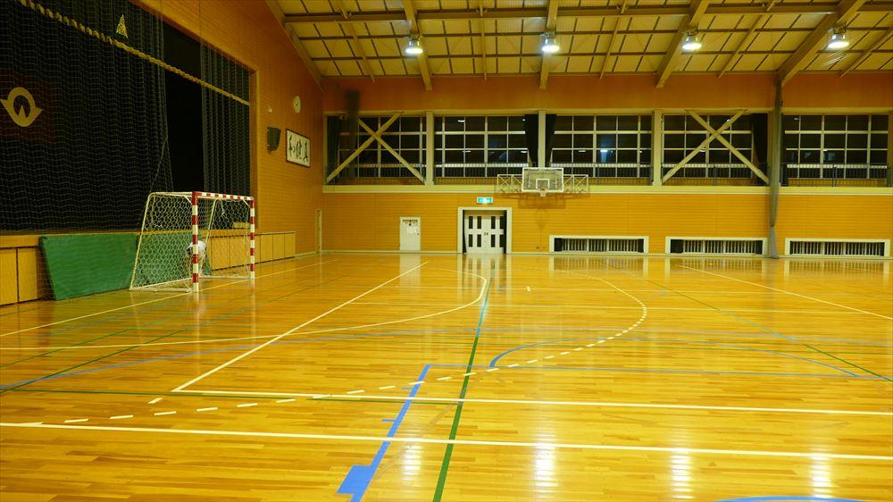 徳山高校体育館