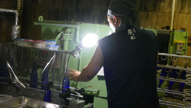 原田の製造ライン