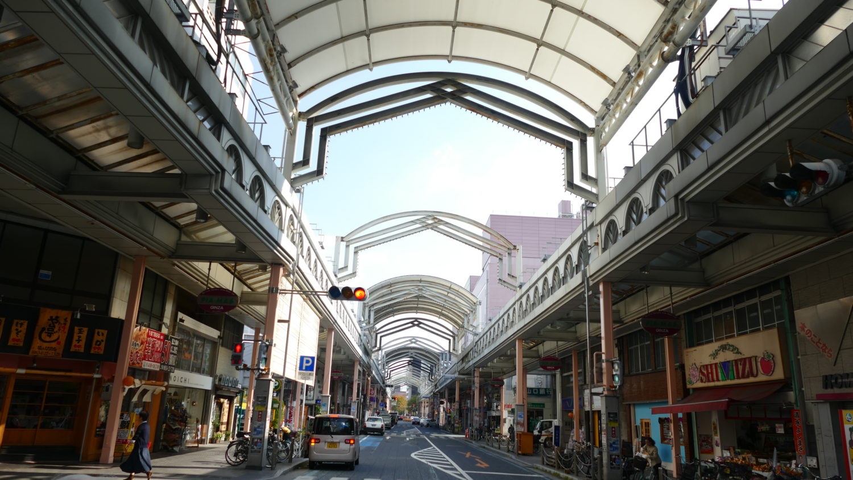 徳山駅前商店街ぎんざ通り
