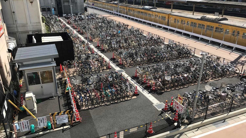 徳山駅駐輪場