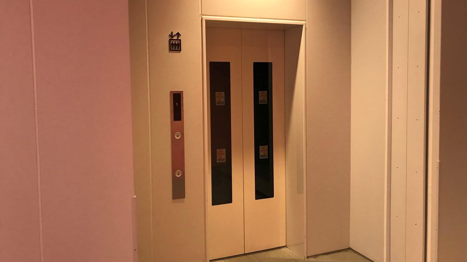 徳山駅みゆき口エレベーター