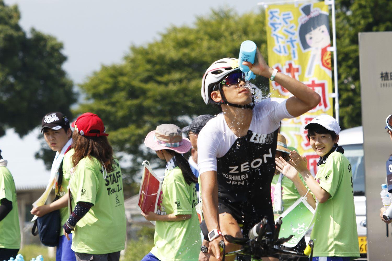 吉村氏レース中の様子