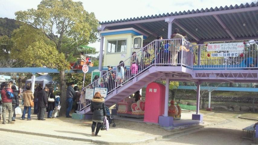 リニューアル前の徳山動物園