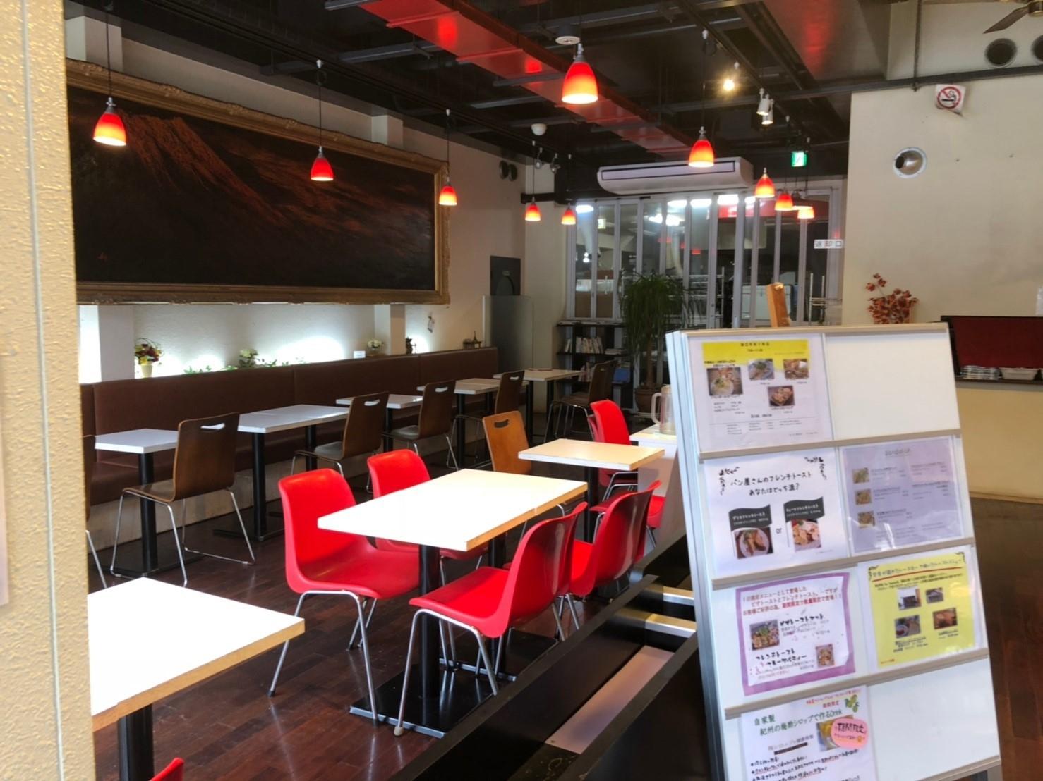 ジャンポールカフェ店内