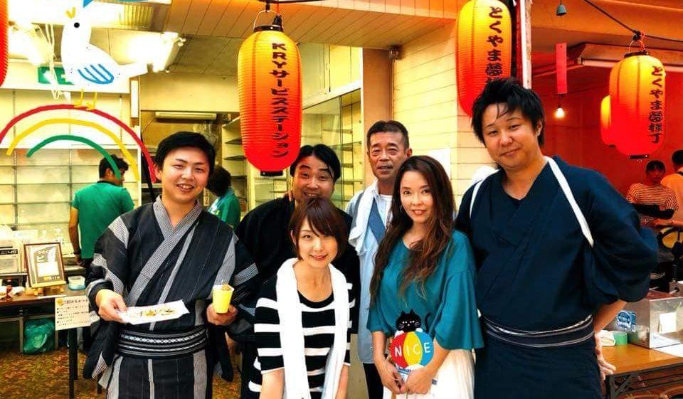 山口県の日本酒を商店街で飲み比べ とくやま夢横丁は一周年!