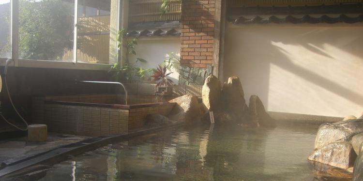 房山園の大浴場