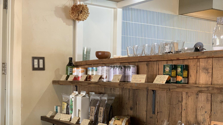 店内で販売されているコーヒー