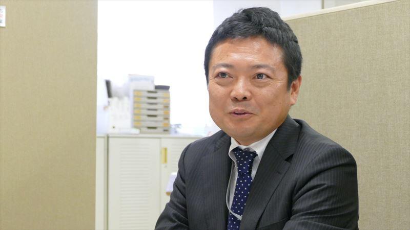 シマヤ代表取締役社長原田氏