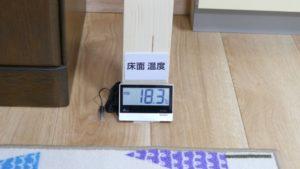 部屋①温度計②